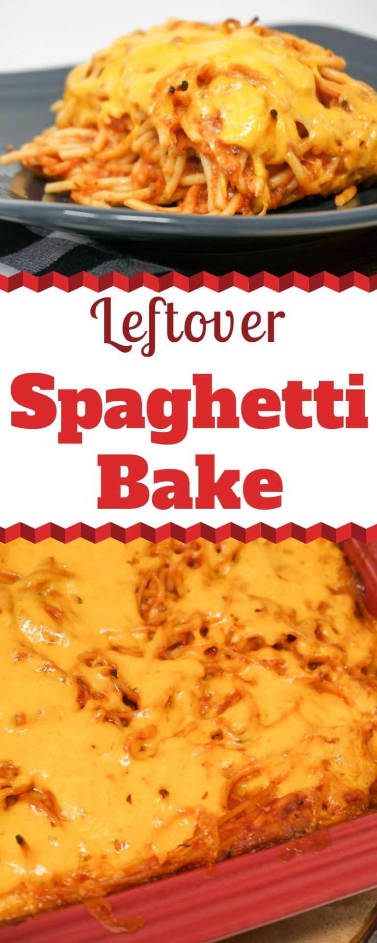 Photo of Leftover Spaghetti Bake | Grace Like Rain Blog