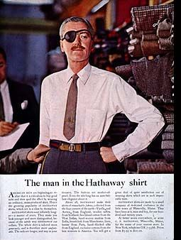The Man in the Hathaway Shirt (David Ogilvy)