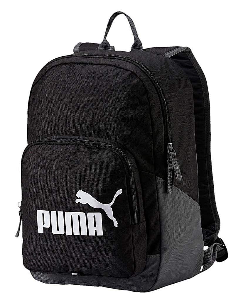 Puma Phase Backpack Black backpack, Backpacks, Backpack