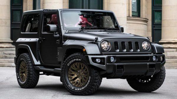 Jeep Wrangler Black Hawk Edition By Project Kahn 1