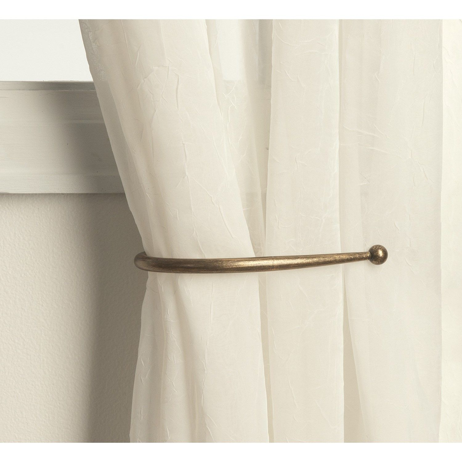 Curtain hardware tiebacks - Curtain Holdbacks Check Various Designs And Colors Of Curtain Holdbacks On Pretty Home Also Check Magnetic Curtain Rods