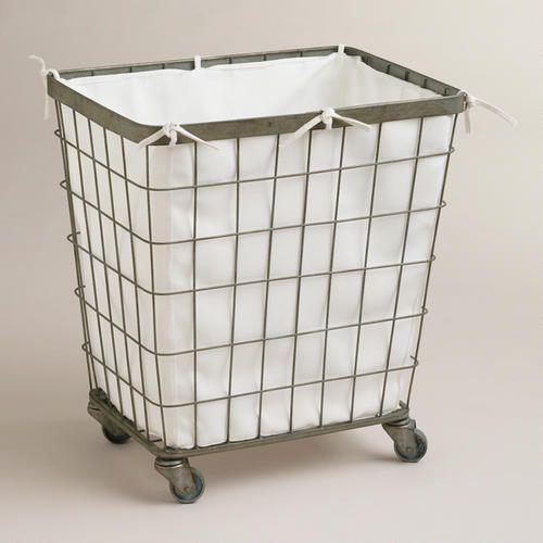 Ellie Rolling Hamper Laundry Basket On Wheels Laundry Hamper
