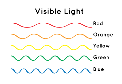 Different Colors Of Light Have Wavelengths Rh Com Ocean Wave Diagram Labeled Science Sound Waves