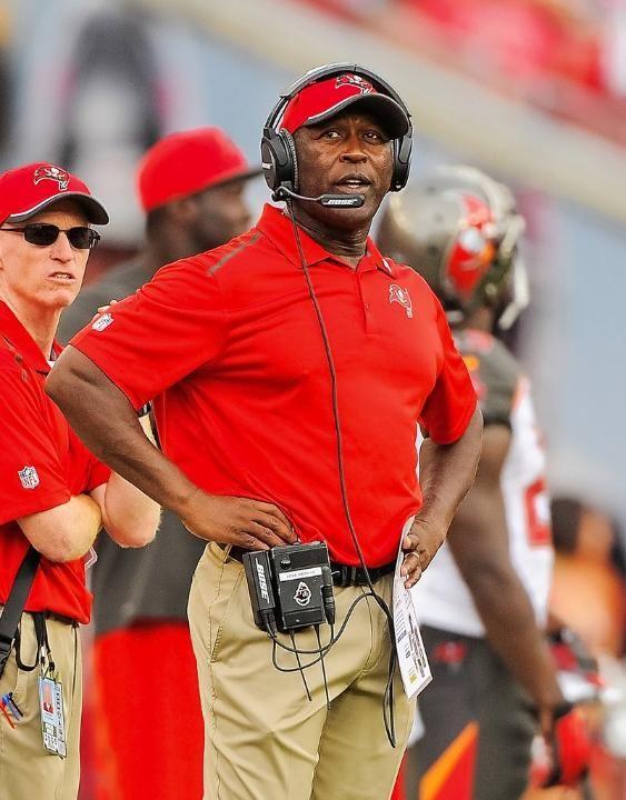 Tampa Bay Buccaneers Head Coach Lovie Smith