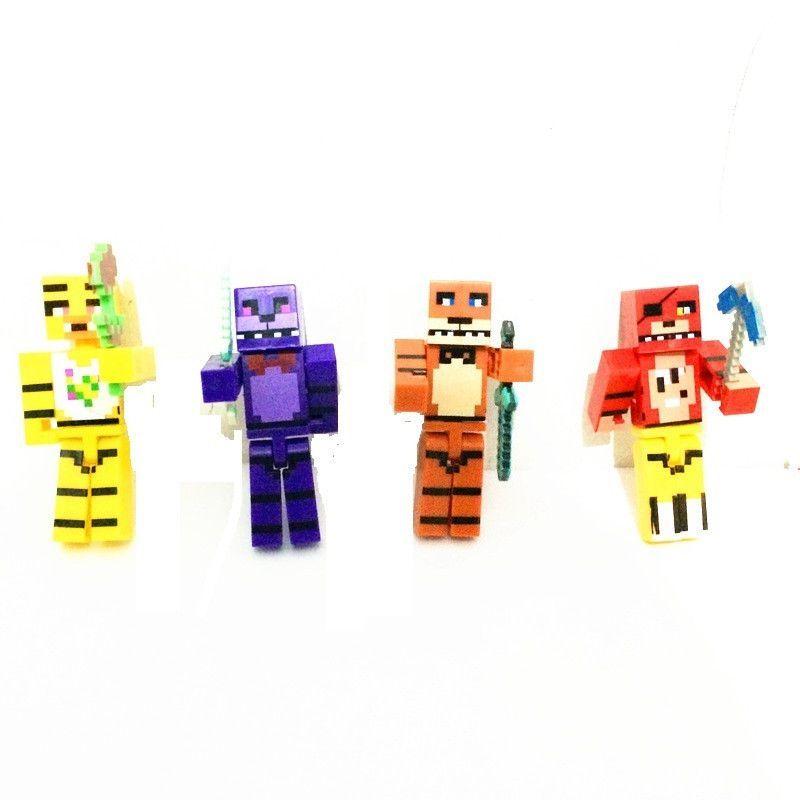 Five Nights At Freddys Freddies Juguetes FNAF Foxy Chica Bonnie - Minecraft fnaf spielen