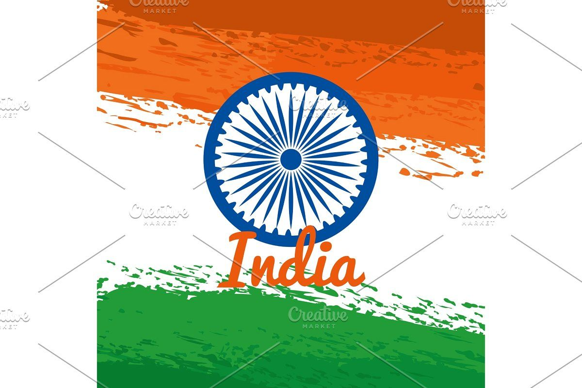 India Emblem With National Flag In 2020 Patriotic Posters Independence Day Holiday National Flag