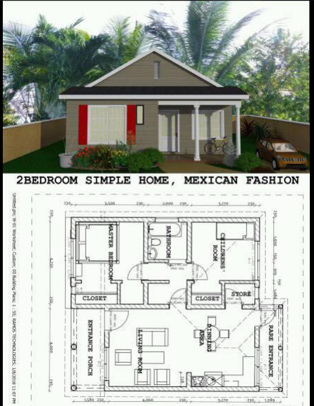 List Of Houses Of 500 Sq Feet To 1000 Sq Feet Modern House Plan Acha Homes Small House Elevation Design Modern House Plan Modern House Floor Plans