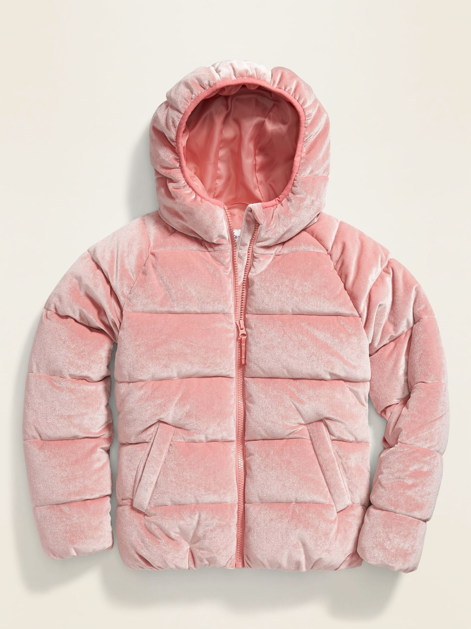Velvet Puffer Jacket For Girls Girls Jacket Jackets Old Navy Girls [ 2000 x 1500 Pixel ]
