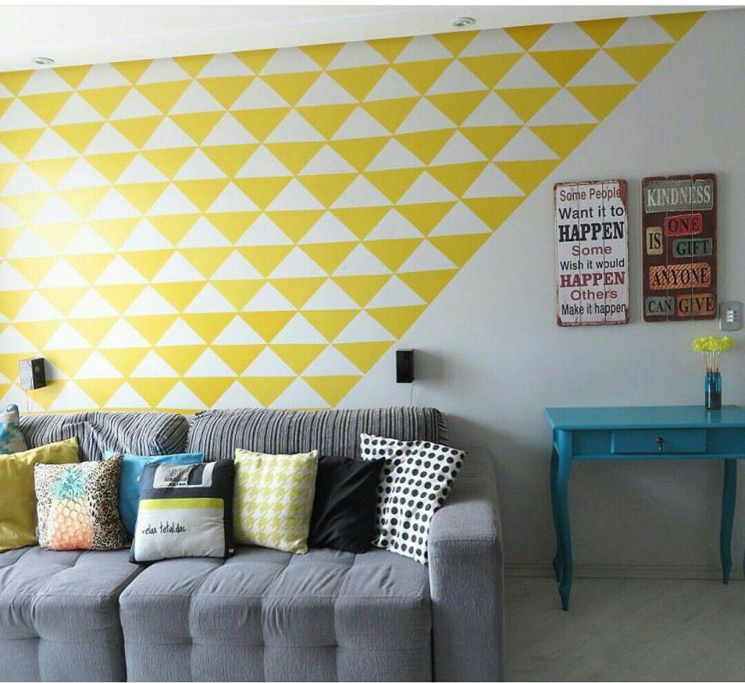 Papel de parede com papel Contact | Living | Pinterest | Interiors