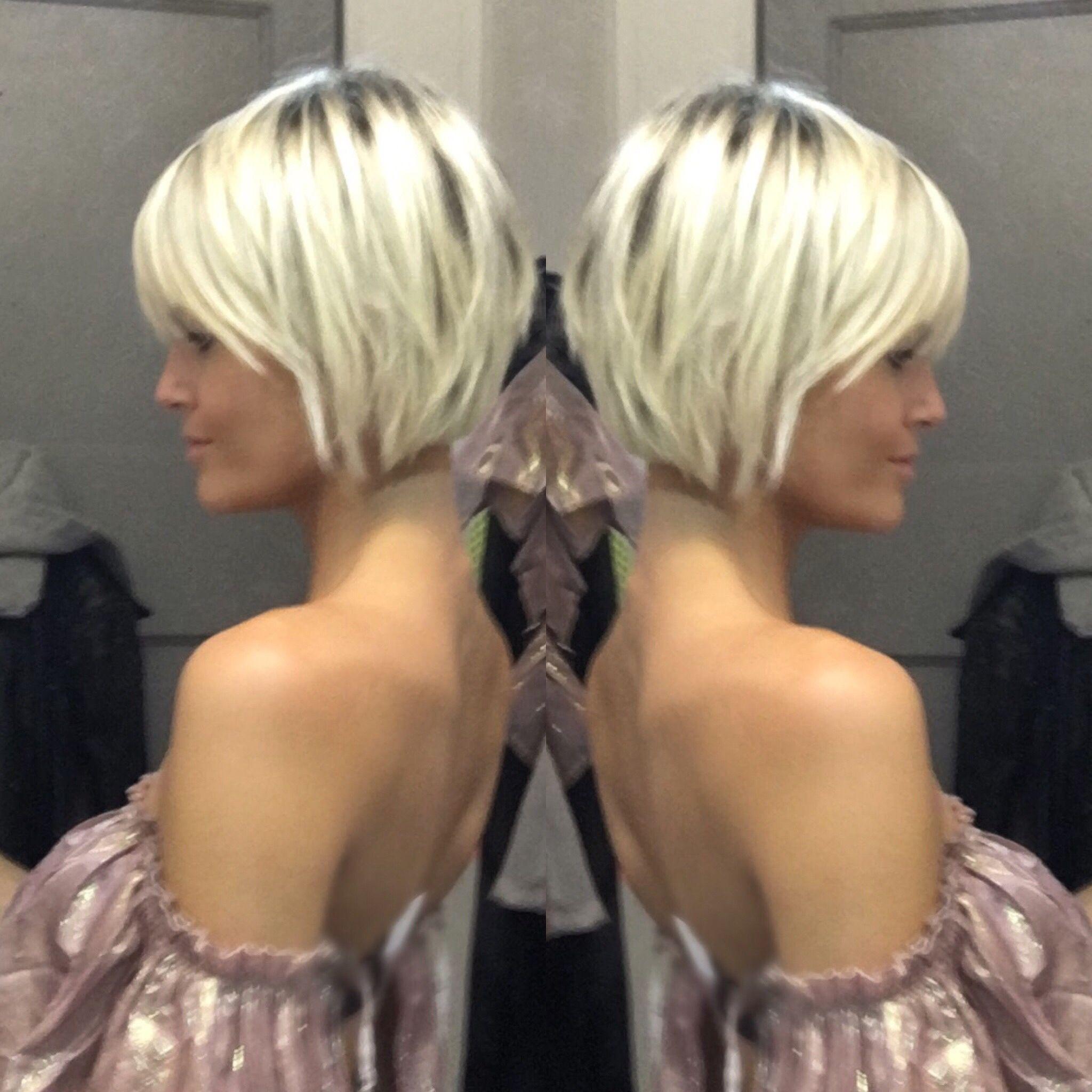 Short Blonde Hair Krissafowles Short Sassy Hair Sassy Hair Short Hair Styles