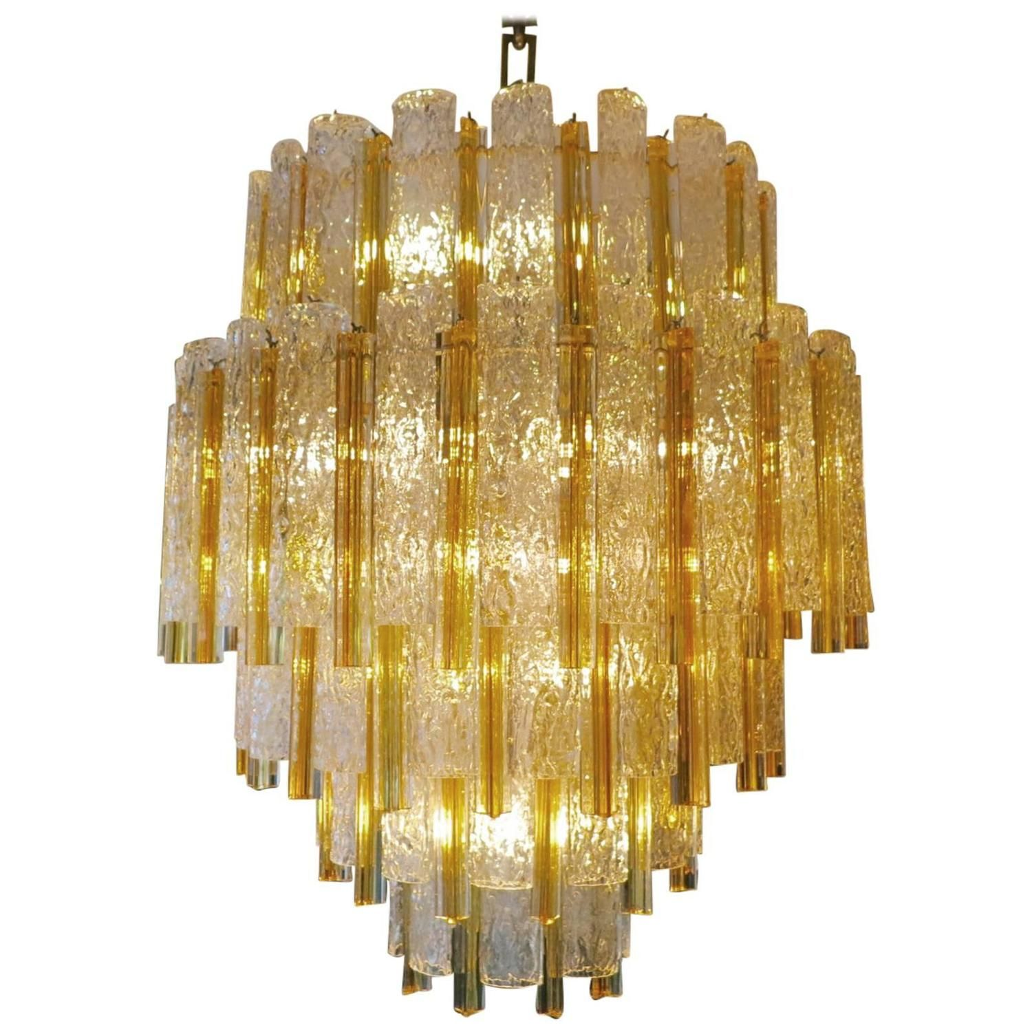 Large italian venini murano glass chandelier antigedades muebles large italian murano glass chandelier from a unique collection of antique and modern chandeliers and aloadofball Images