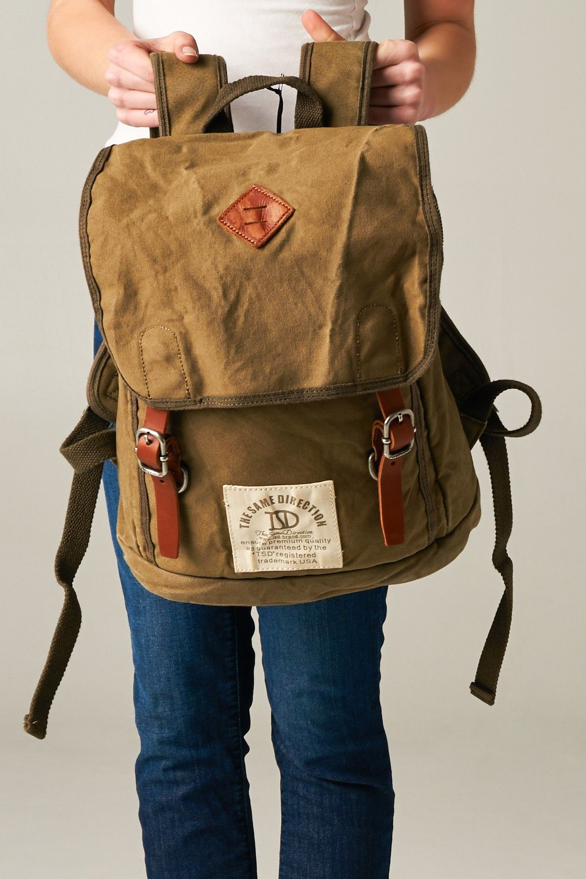 5676d9311a Foldover Flap Backpack Rapazes