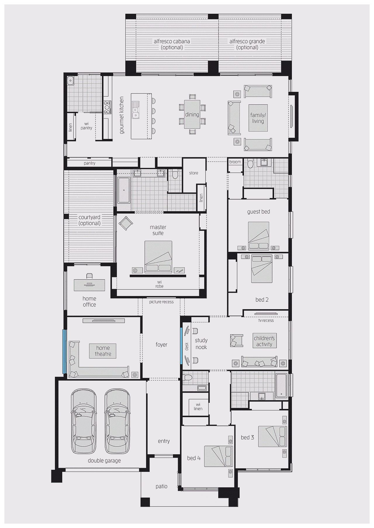 Large Family Home Plans To Build A Large Family Home You Should First Learn How To Build A Home That Has Lots Of Rooms While Not All Homes Are Large I