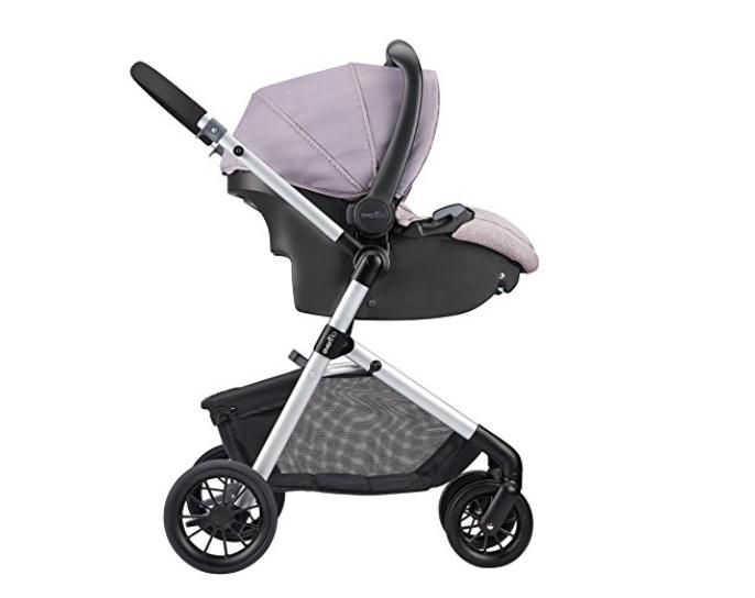 Chicco Bravo Trio Travel System Stroller, Lilla Walmart