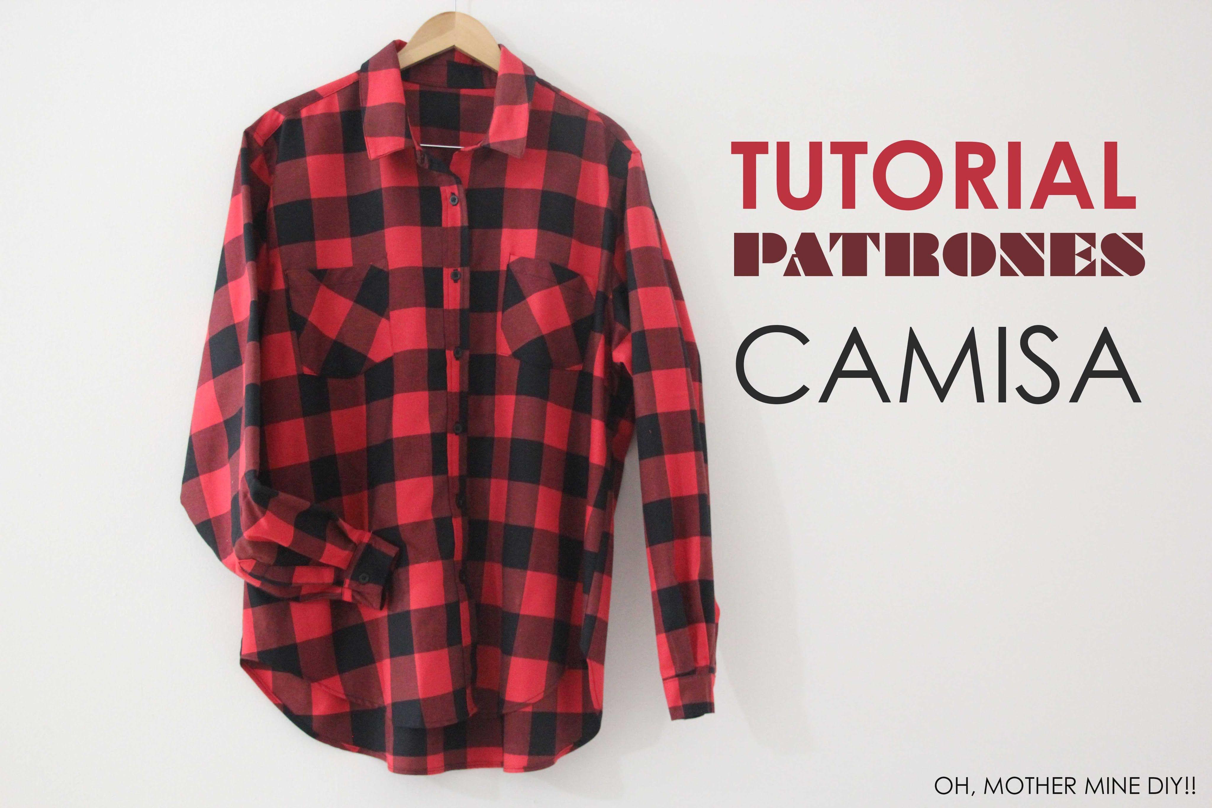 DIY ropa, como hacer tu misma esta camisa o blusa básica de mujer ...