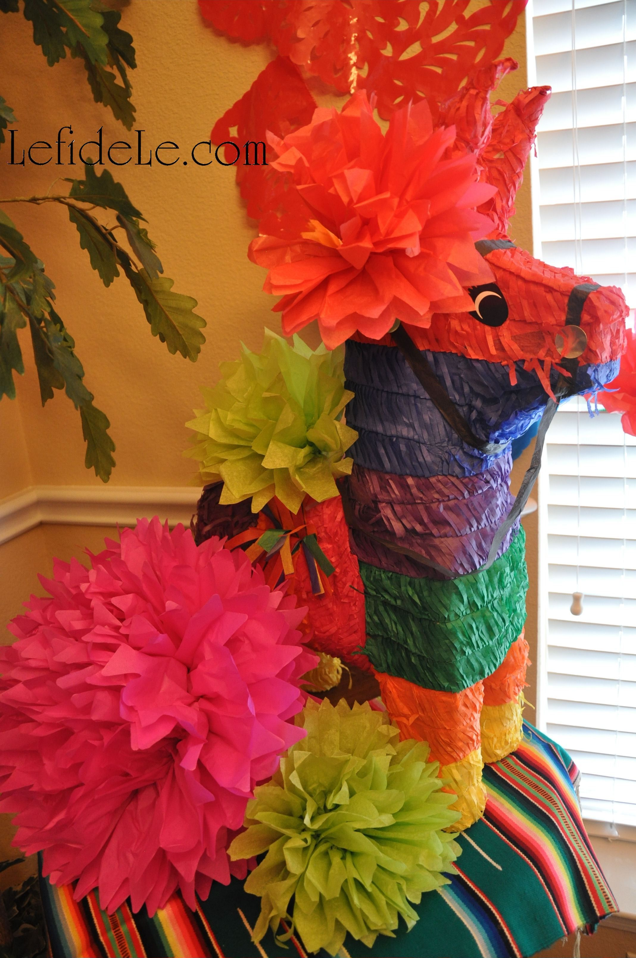 Easy Diy Tissue Paper Flowers Crafts For Cinco De Mayo Fiesta Dcor