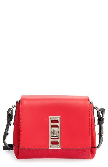Proenza Schouler Mini Elliot Leather Crossbody Bag Available At Nordstrom