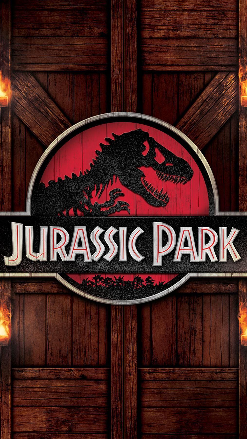 Jurassic Park (1993) Phone Wallpaper Jurassic park dvd