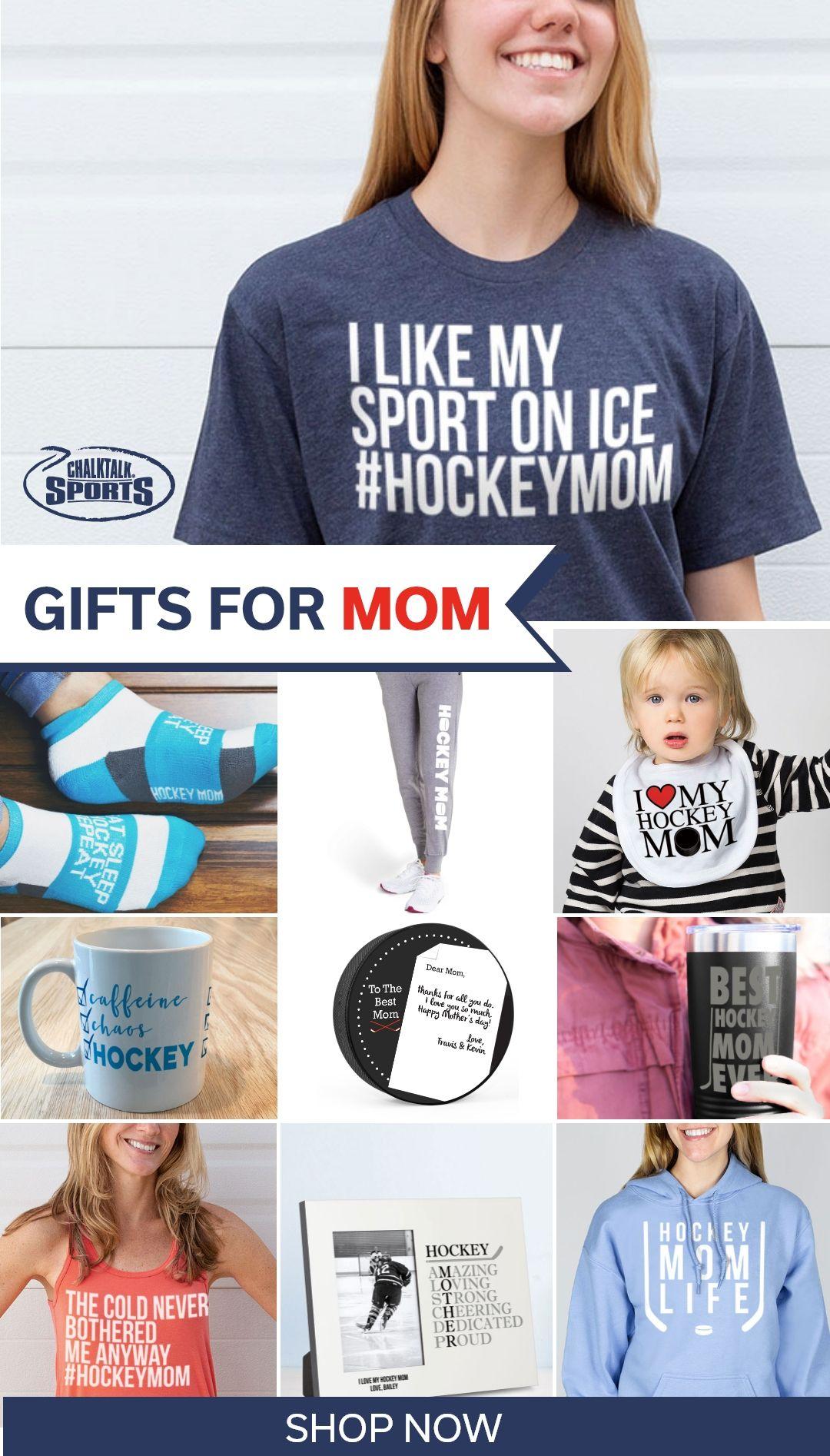 Hockey Mom Mug Gift Mother Proud Sports