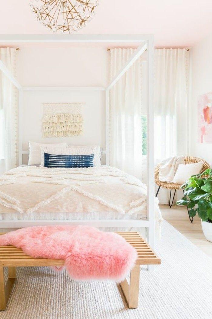 quelle couleur pour une chambre coucher fauteuil de bois accompagn dun blanc - Quelle Couleur Pour Une Chambre A Coucher