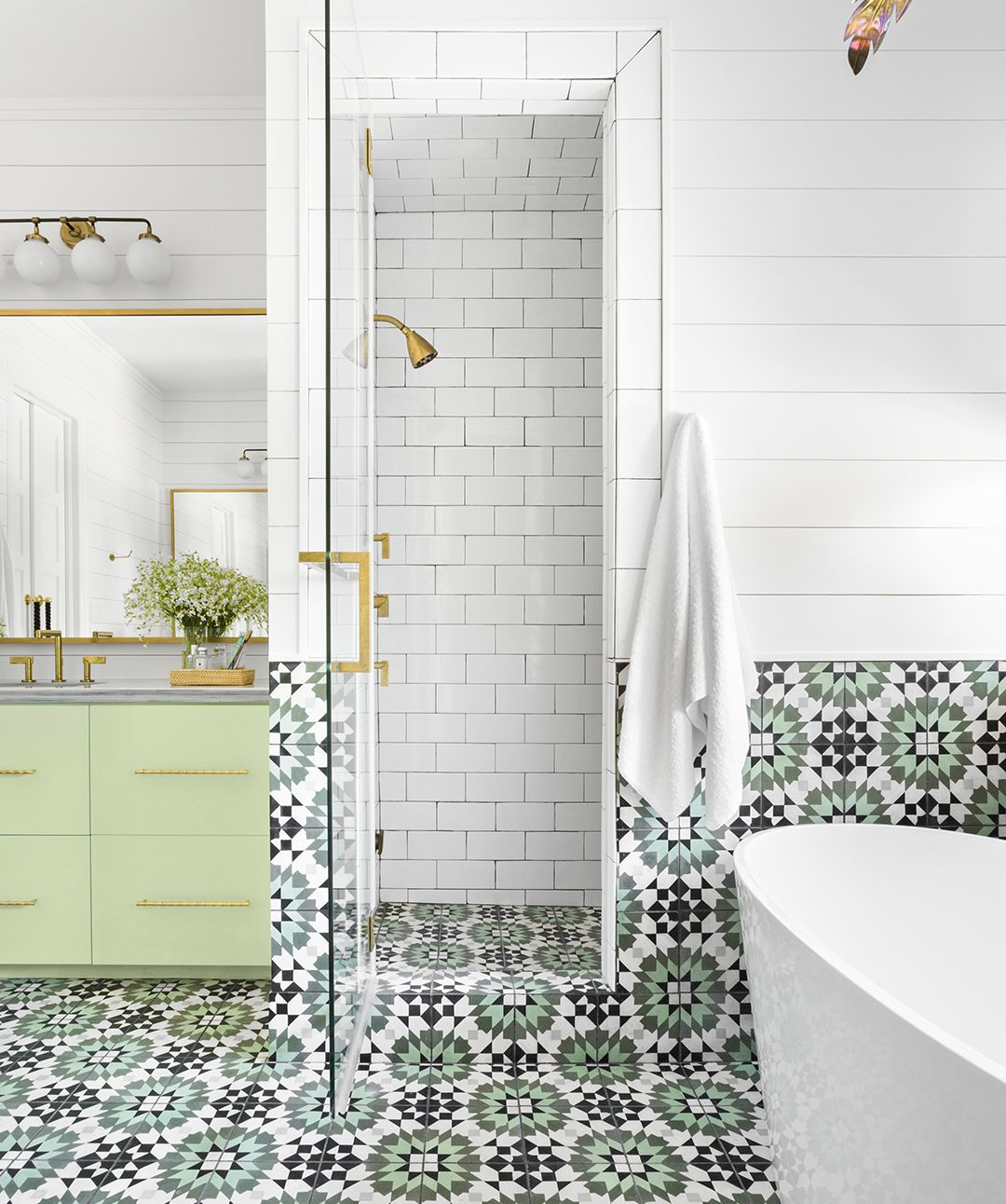 14 How To Tile A Bathroom Floor With Plank Tiles Bathroom Tiles Images Amazing Bathrooms Bathroom Flooring