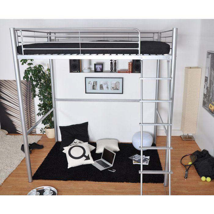 shopping malin pour meubler un studio lit mezzanine. Black Bedroom Furniture Sets. Home Design Ideas