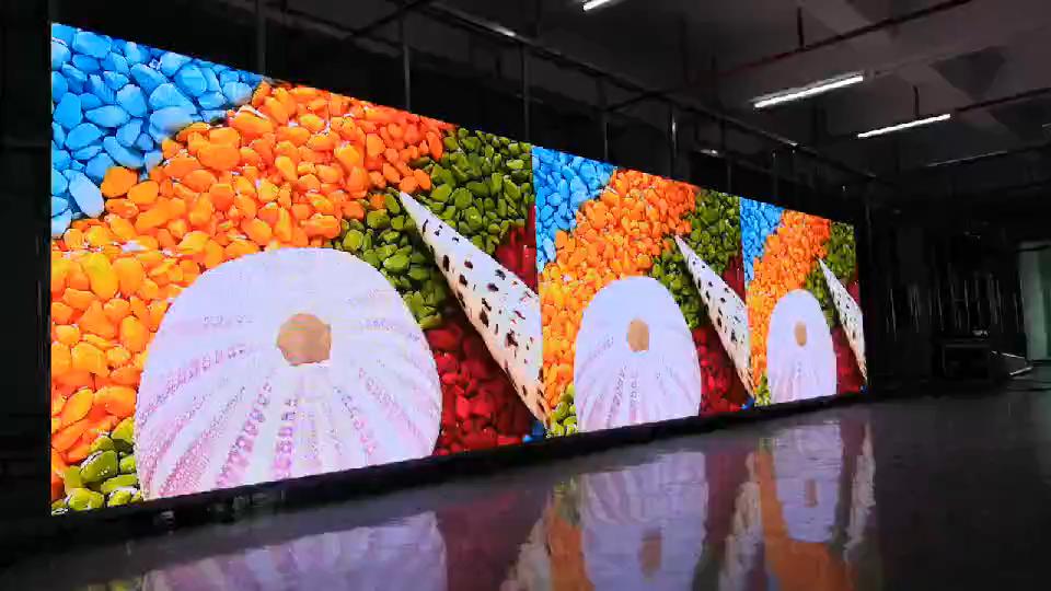 P3.91mm vivid led wall display