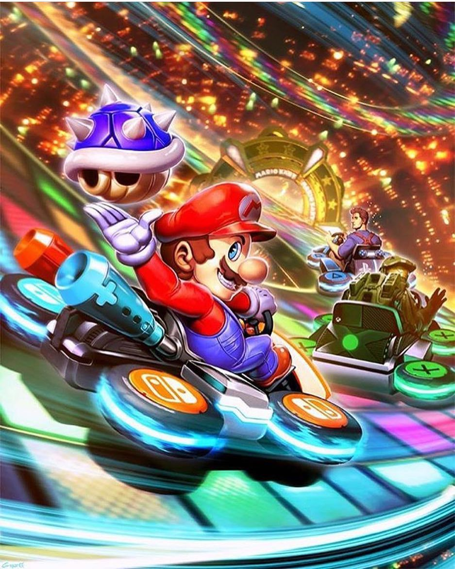 Some Mariokart Art From Mrgenzoman Nothin Better To Do On A