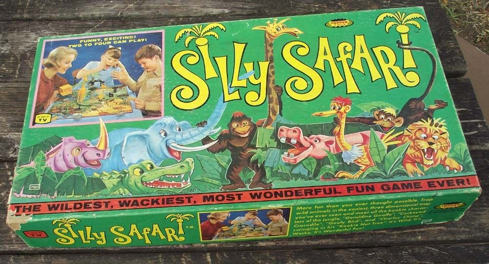 My favorite board game, took forever to set up Safari