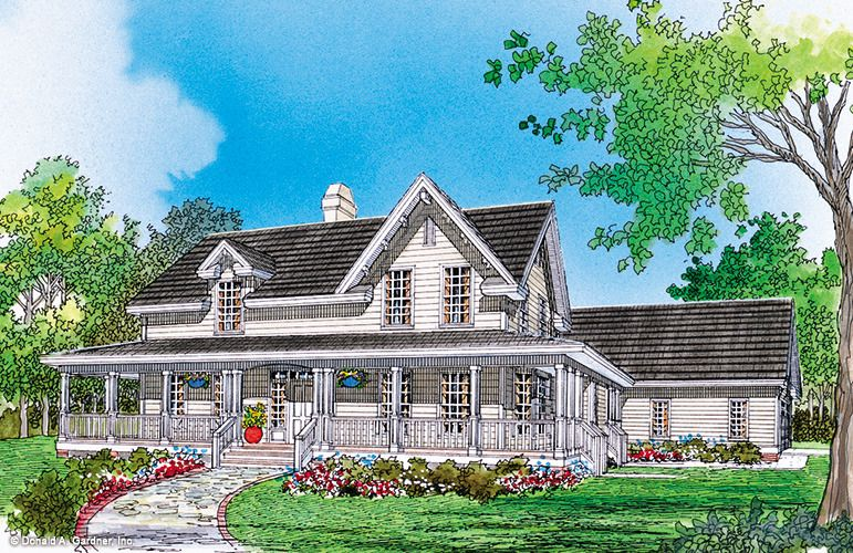House Plan The Maplewood By Donald A Gardner Architects Country Style House Plans House Plans Farmhouse House Plans With Photos
