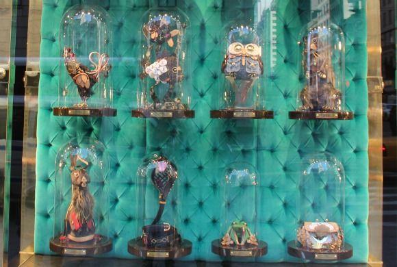 Romantische Schaufenster Dekoration 2015 Dekoration 2015