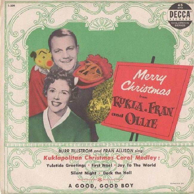 45cat - Burr Tillstrom And Fran Allison - Merry Christmas From Kukla Fran And Ollie - Decca Children's Series - USA