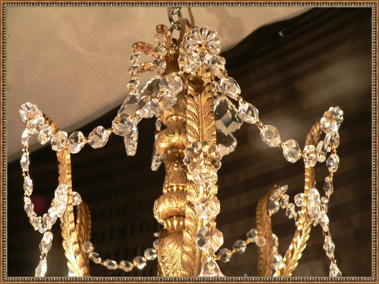 Amazing ornate vintage european solid brass chandelier crystals amazing ornate vintage european solid brass chandelier crystals 26x26 ebay arubaitofo Choice Image