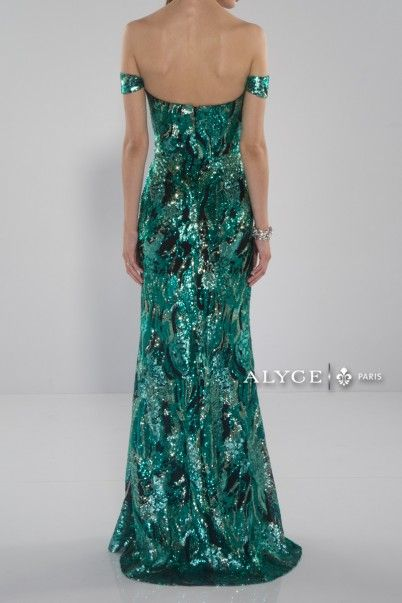 Black Label Dress Style #5655 Full View