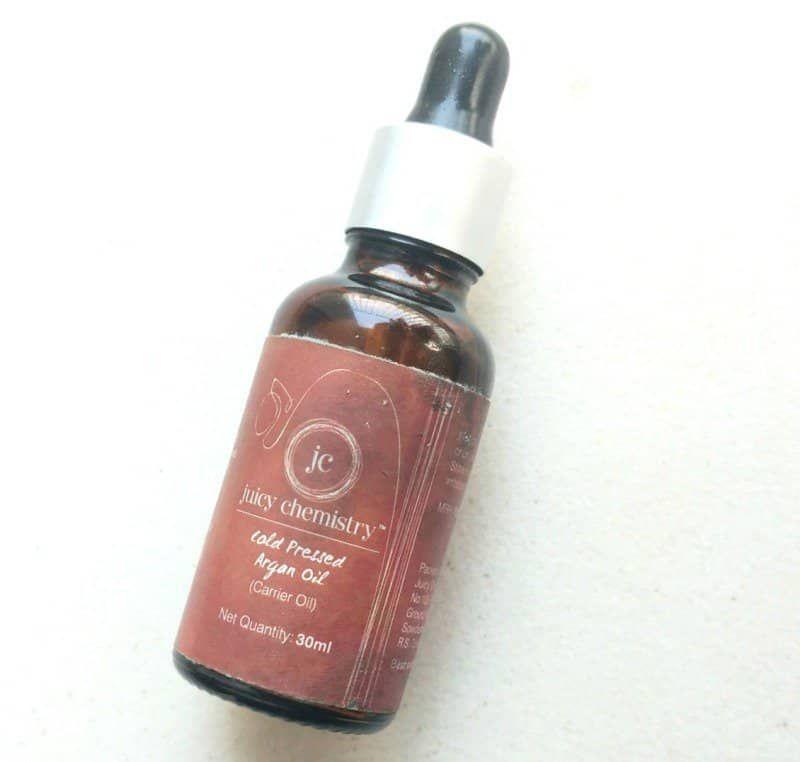 Juicy Chemistry Argan Oil Review Argan Oil Oils Chemistry