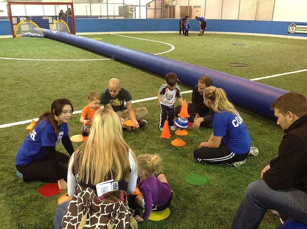 Lil' Kickers debuts at Soccer Center / South Sound
