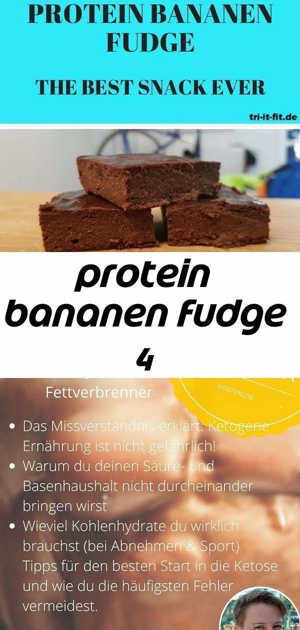 Protein Bananenfondant 4 -  #Fitness #Protein #Essen #Rezept #Rezept -  Protein Bananenfondant 4 – #...