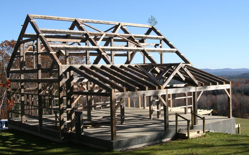 Old Barn Frames For Sale | Vermont Timber Works | Beautiful Timber ...