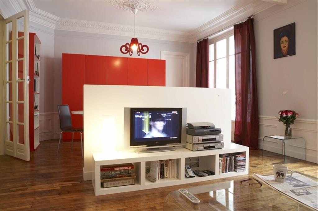 Meuble Tv Separation De Piece #5: Ju0027adore ! Allez Sur Www.domozoom.com Découvrir Les Plus Beaux Intérieurs