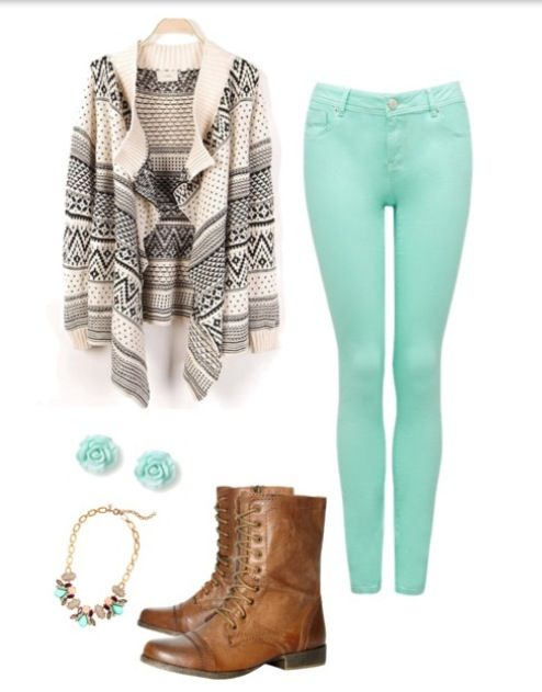 Winter casual (different jewelry) | Casual winter outfits ...