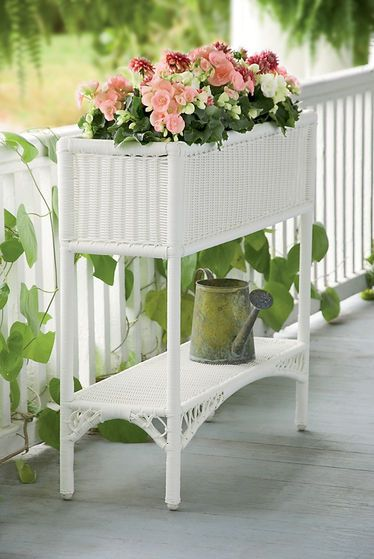 Lake House Planter I Would Love This For My Veranda