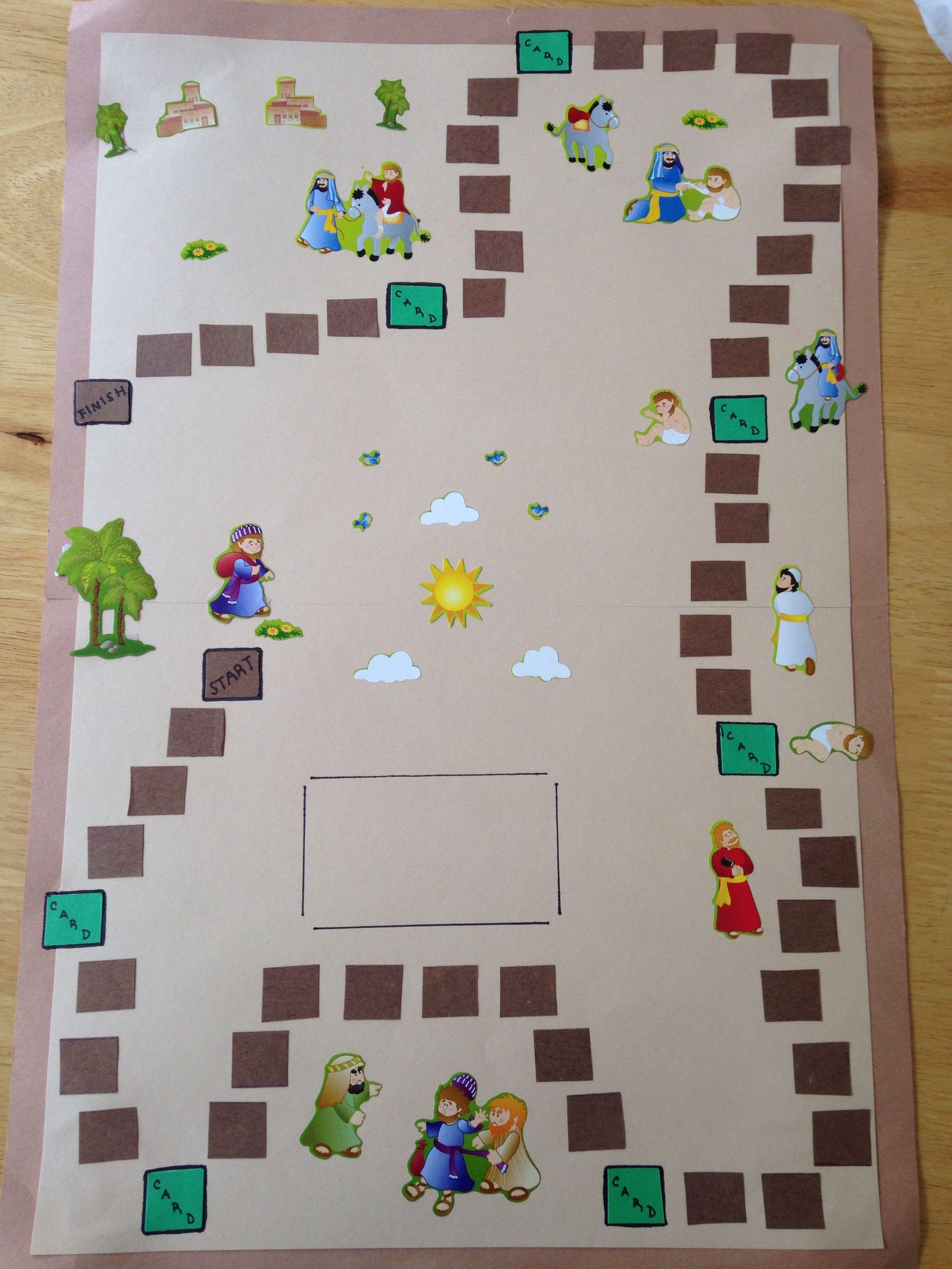 The Good Samaritan Board Game