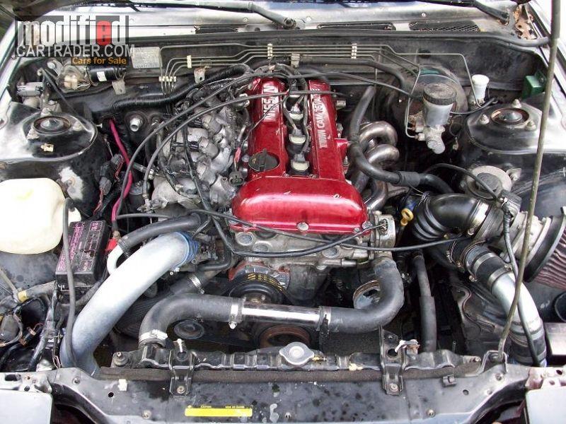 1993 Nissan 240SX SR20DET | Engines | Truck engine, Nissan