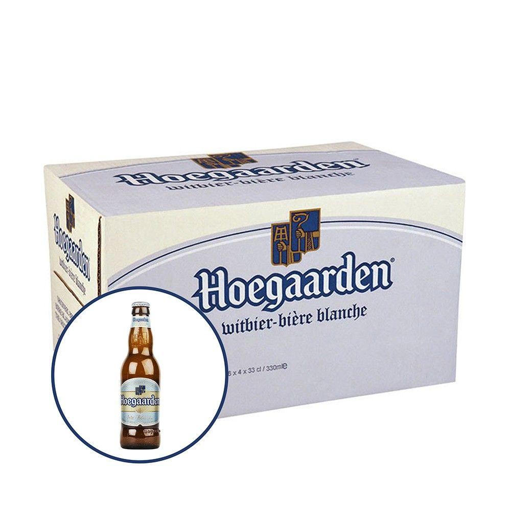 Bia Hoegaarden 4,9% - Chai 330ml - Bia Nhập Khẩu