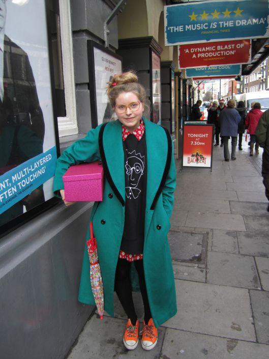 Jessie Cave Jessie Lavender Brown Fashion