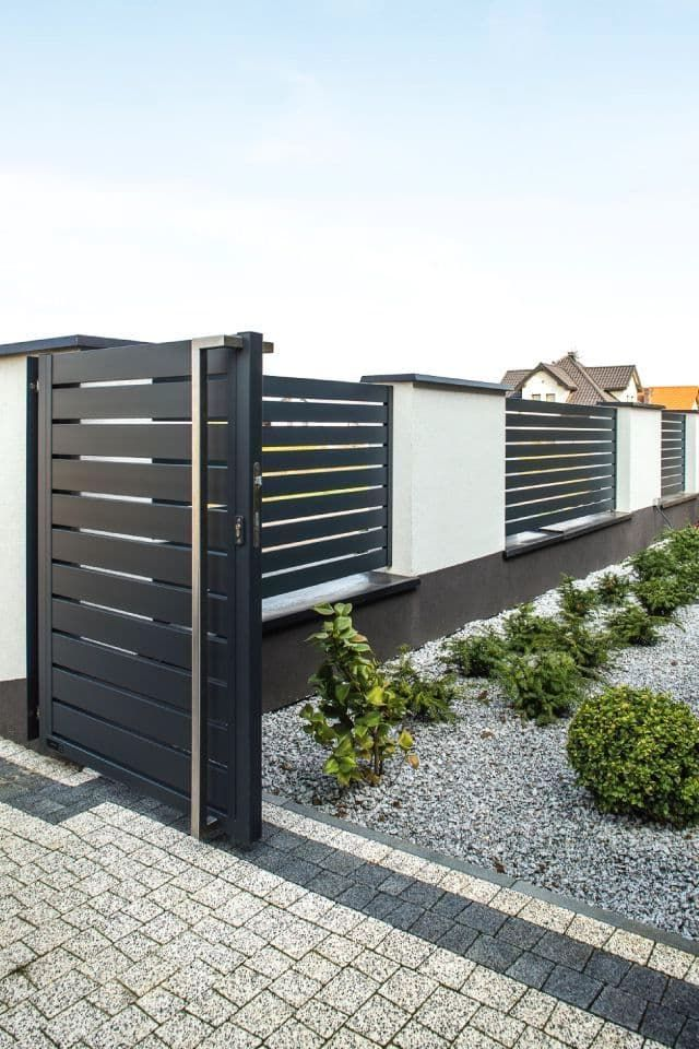 100+ Идей !!! | Забор перед домом, Крыльцо загородного ...