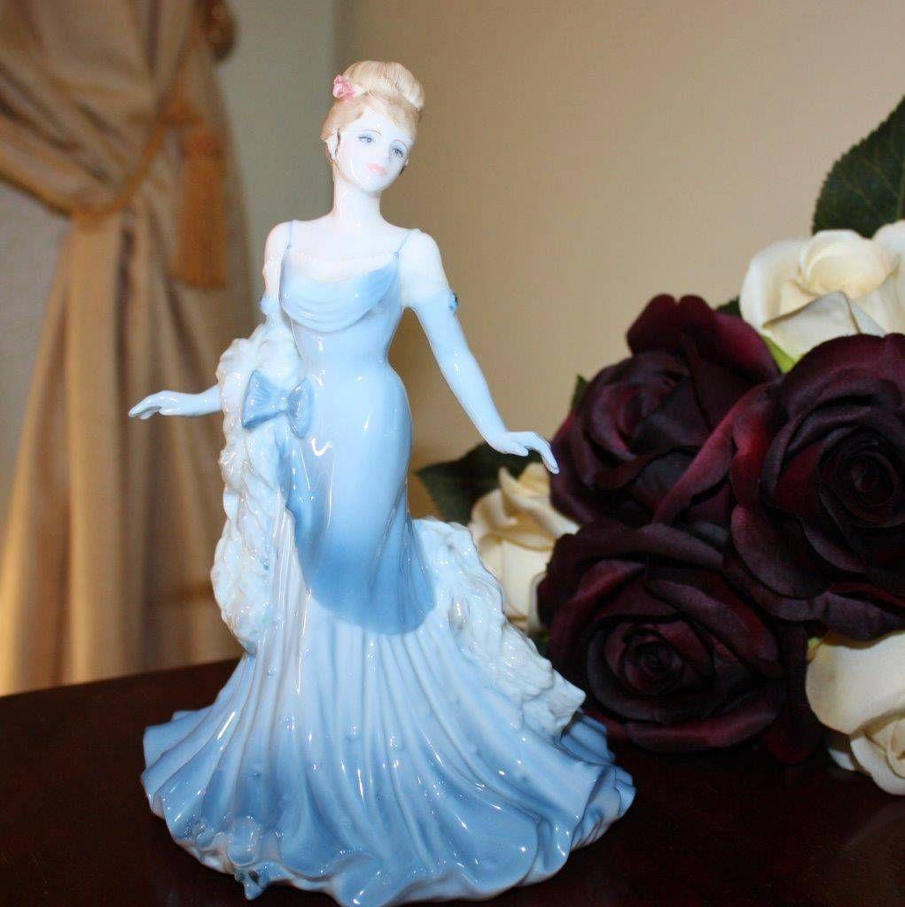 "Coalport ""Debbie"" Ladies OF Fashion Figurine OF THE Year 1999 UK Very Elegant   eBay"