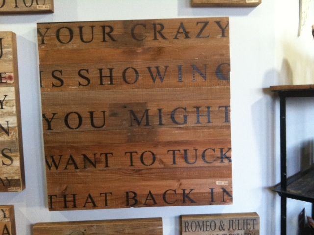 Our favorite sign at our new store. Come visit us and see for yourself. Island Cowgirl at Marathon Village, Nashville, TN