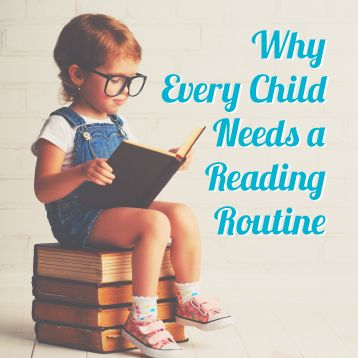 why every child needs a reading routine country home learning