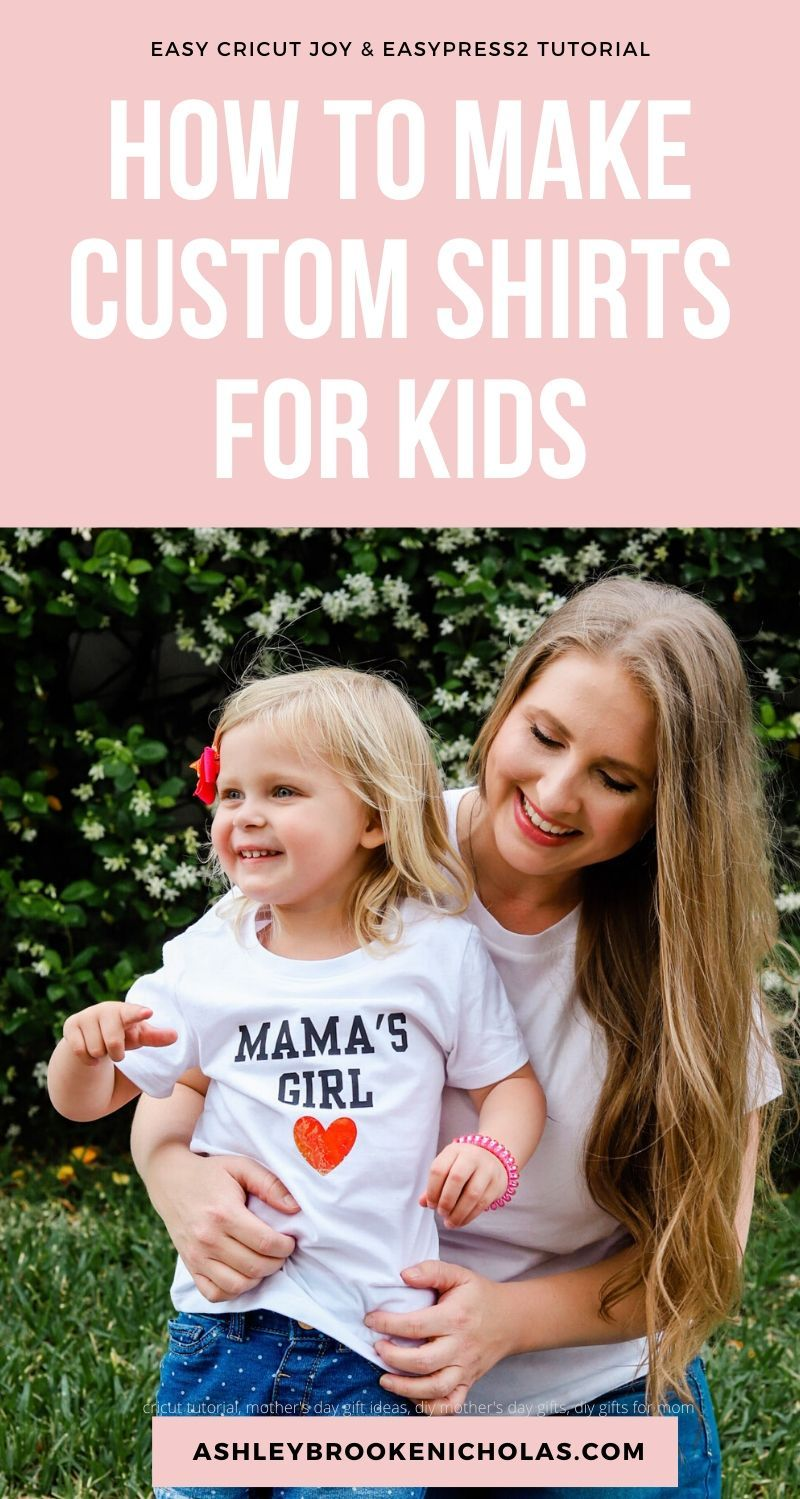 How to Make Custom T-Shirts for Kids with Cricut Joy and EasyPress2